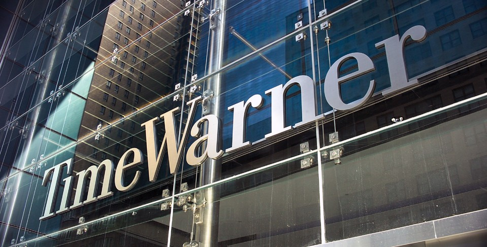 Time Warner Profits sink on falling ratings.