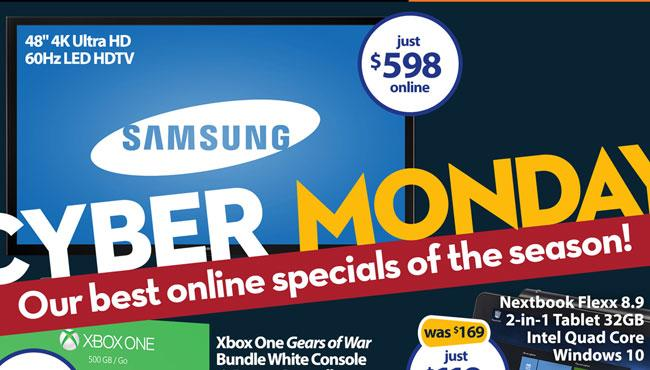 Walmart's Cyber Monday Starts On Sunday