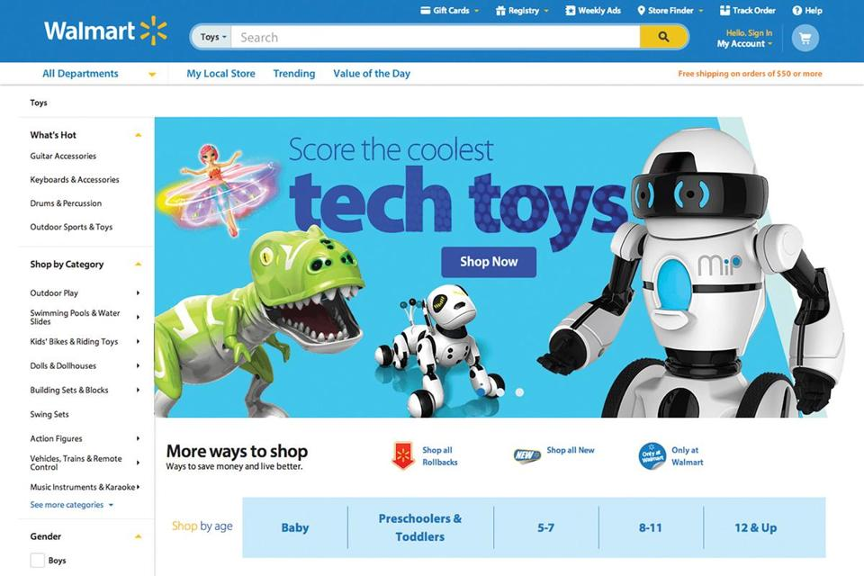 Walmart Website Slow on Thanksgiving Day