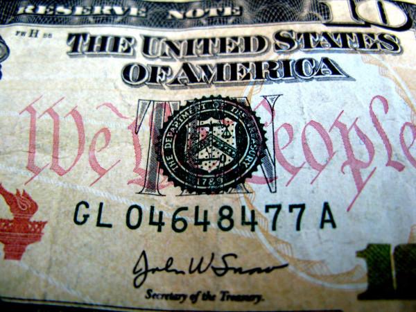 Woman $10 Bill