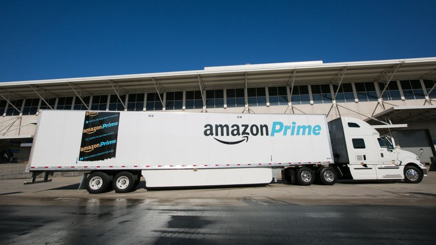 Amazon Trailers branding with Amazon Prime Logo