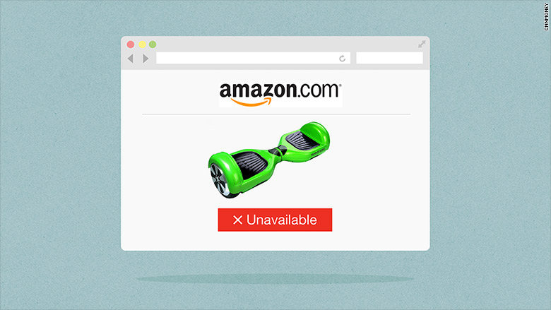 Amazon removes Hoverboards