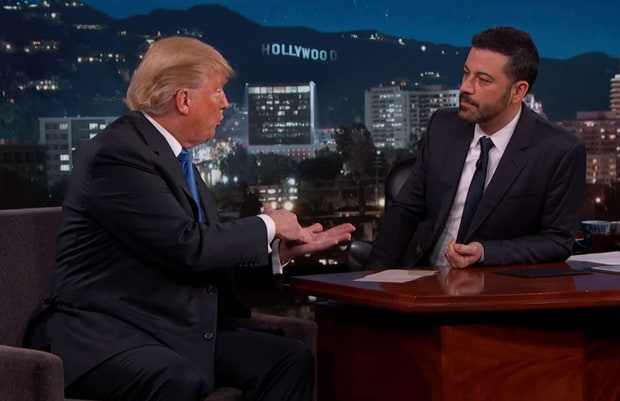Donald Trump on Jimmy Kimmel
