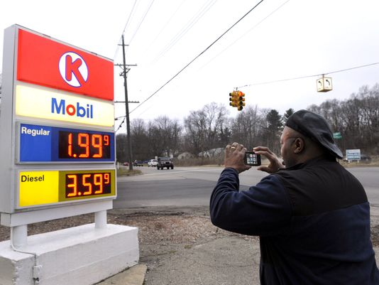 Gas prices have fallen below $2 a gallon and heating costs are down
