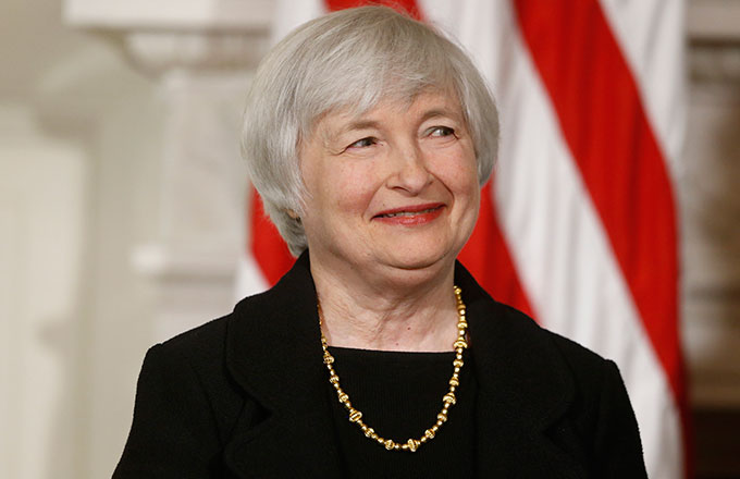 Janet Yellen and Interest Rates