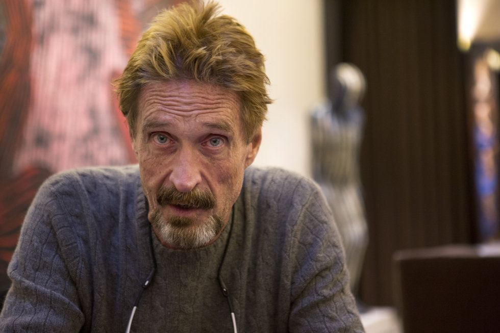 John McAfee and Everykey