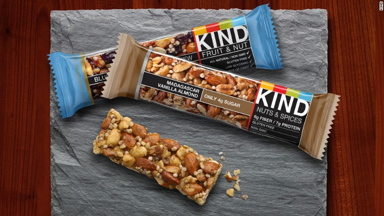 Kind Bars - Definition of Healthy and the FDA