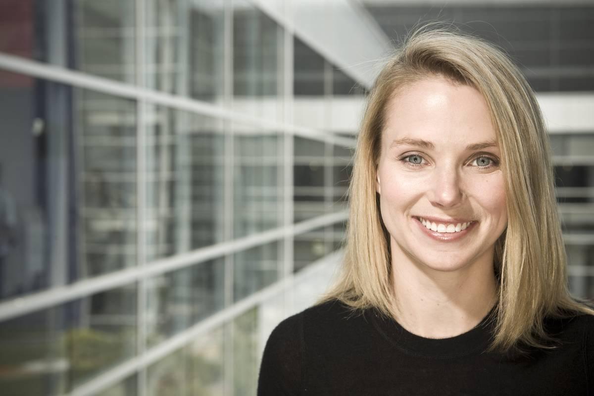 Marissa Mayer at Yahoo