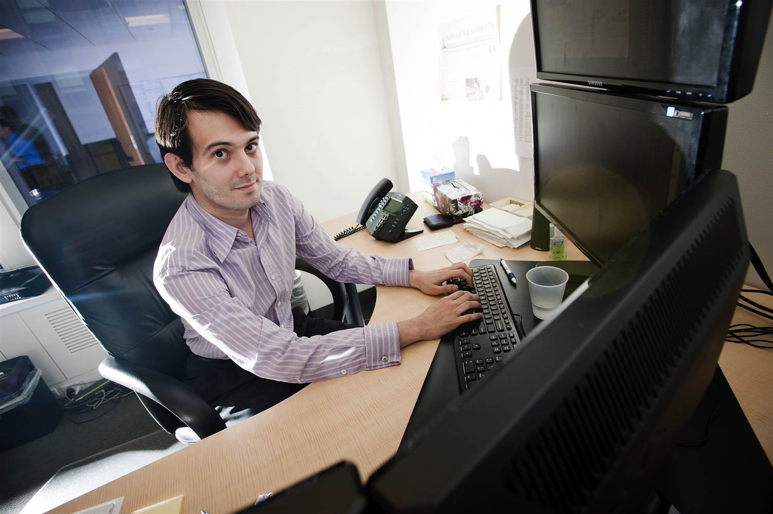 Martin Shkreli fired from Turing