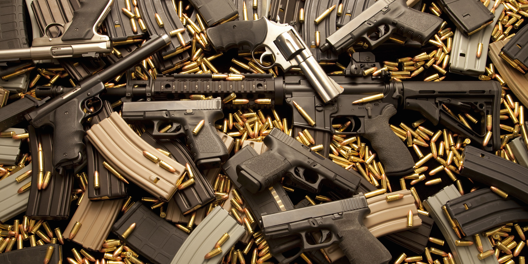 guns, pistols, rifle, revolvers, and ammunition
