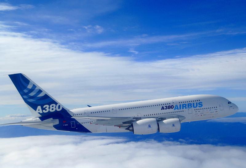 AIrbus A380 Superjumbo Jet