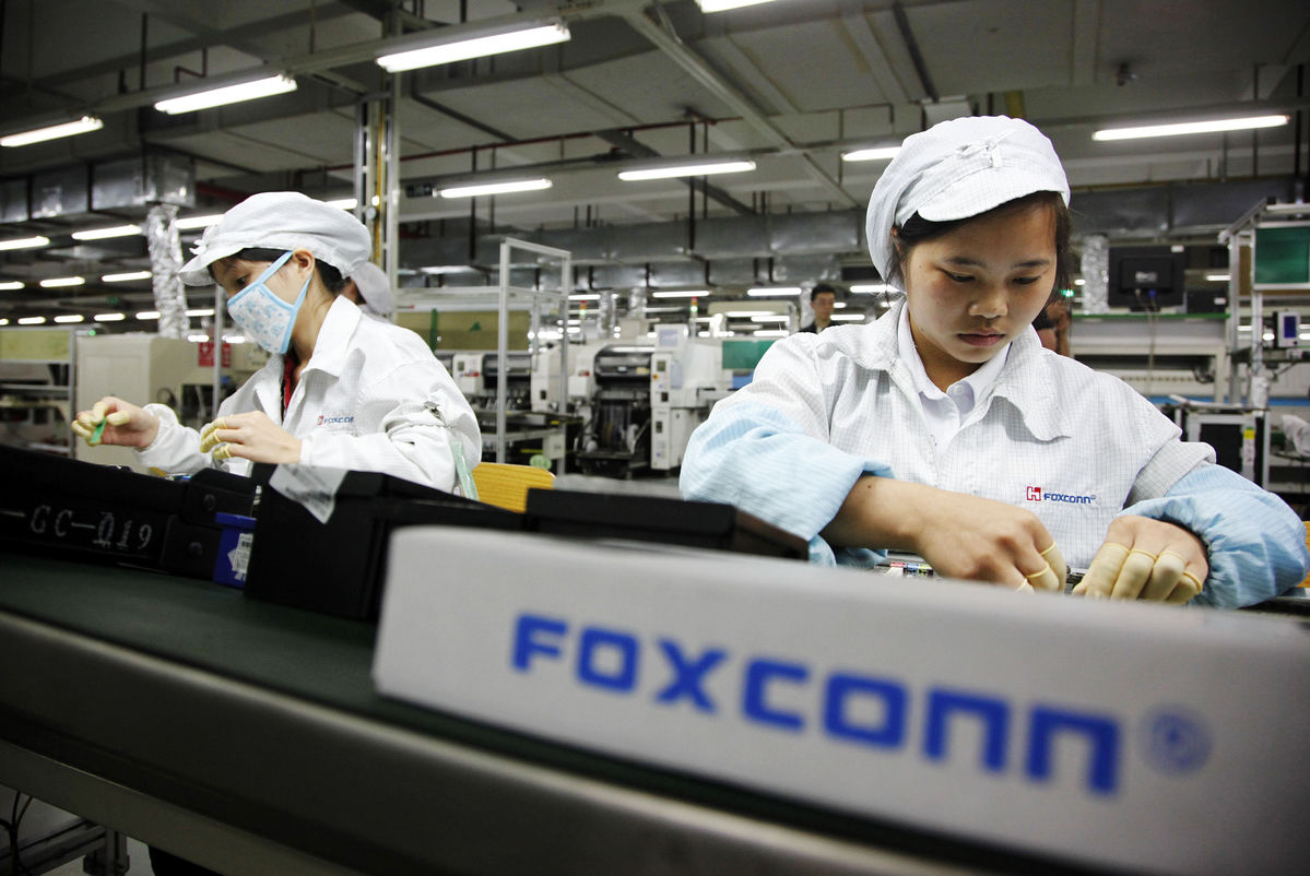 Apple demand and Foxconn Vacations