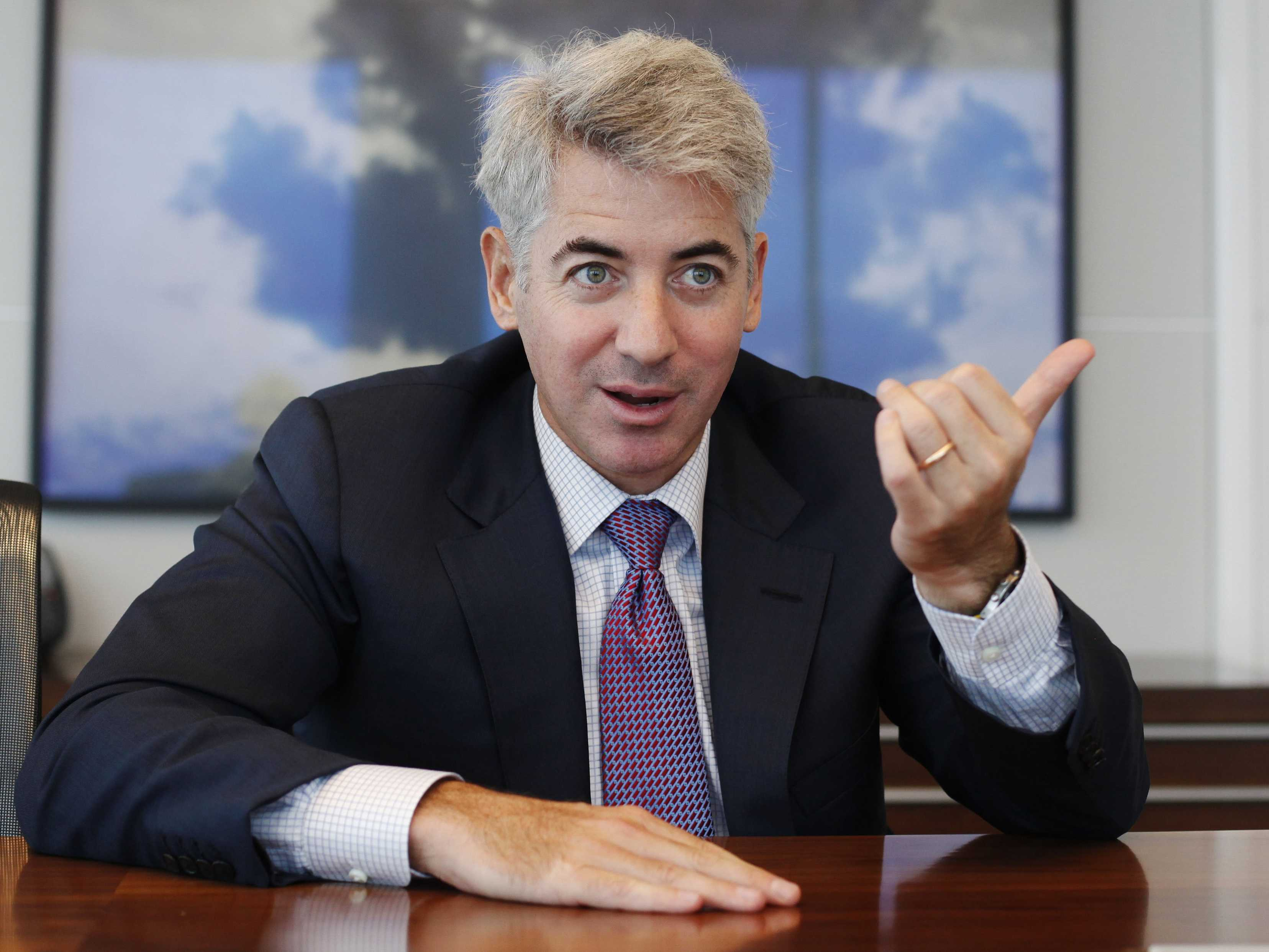 Bill Ackman bad year for hedge fund - 2015
