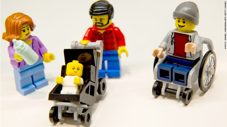 Disabled LEGO character
