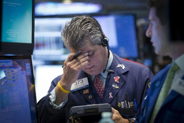 Dow ends with worst year since 2008