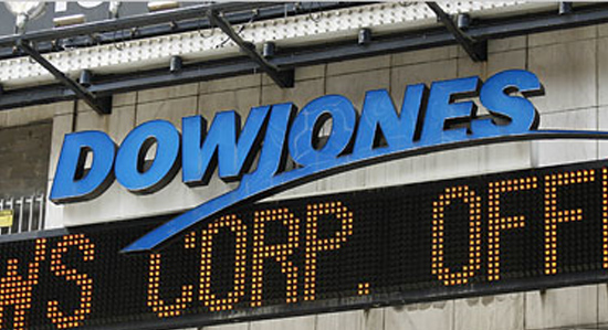 Dow Jones down 1079 points