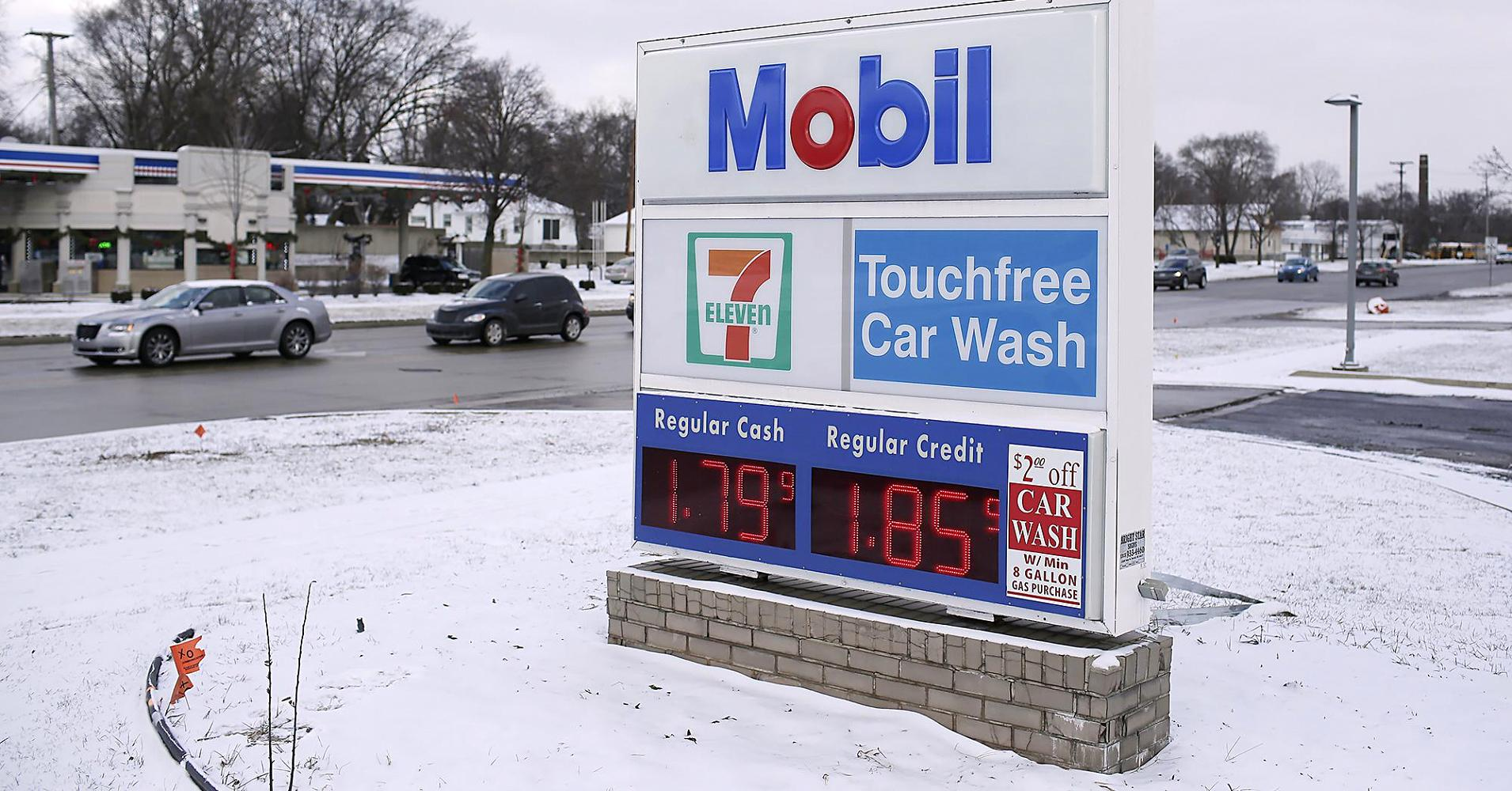 Gas prices at 20 dollars a barrel in 2016
