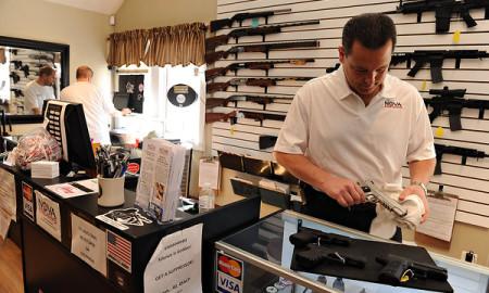 Gun Control Background Checks by the FBi - Record Levels