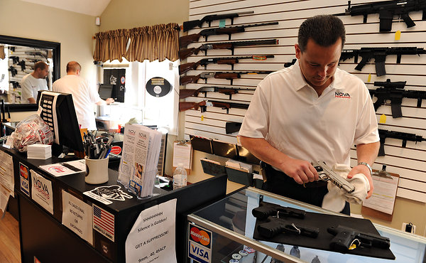 Gun Control Background Checks by the FBi - Record Levels