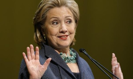 Hillary Clinton raised over 100 million dollars