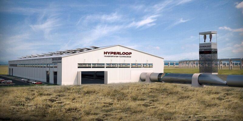 Hyperloop terminal