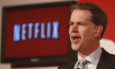Netflix CEO Reed Hastings and the first Global TV network