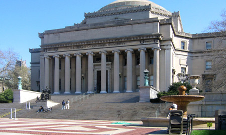 New York - Columbia University Building