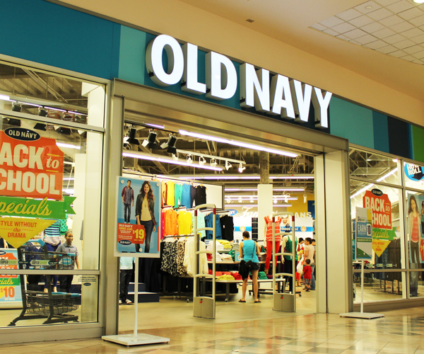 Old Navy sales plunge