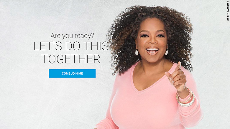 Oprah Winfrey loses 26 pounds on Weight Watchers as stocks soar