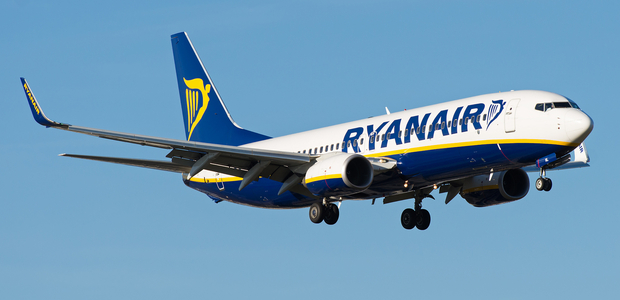 Ryanair UK holiday prices up 46 percent