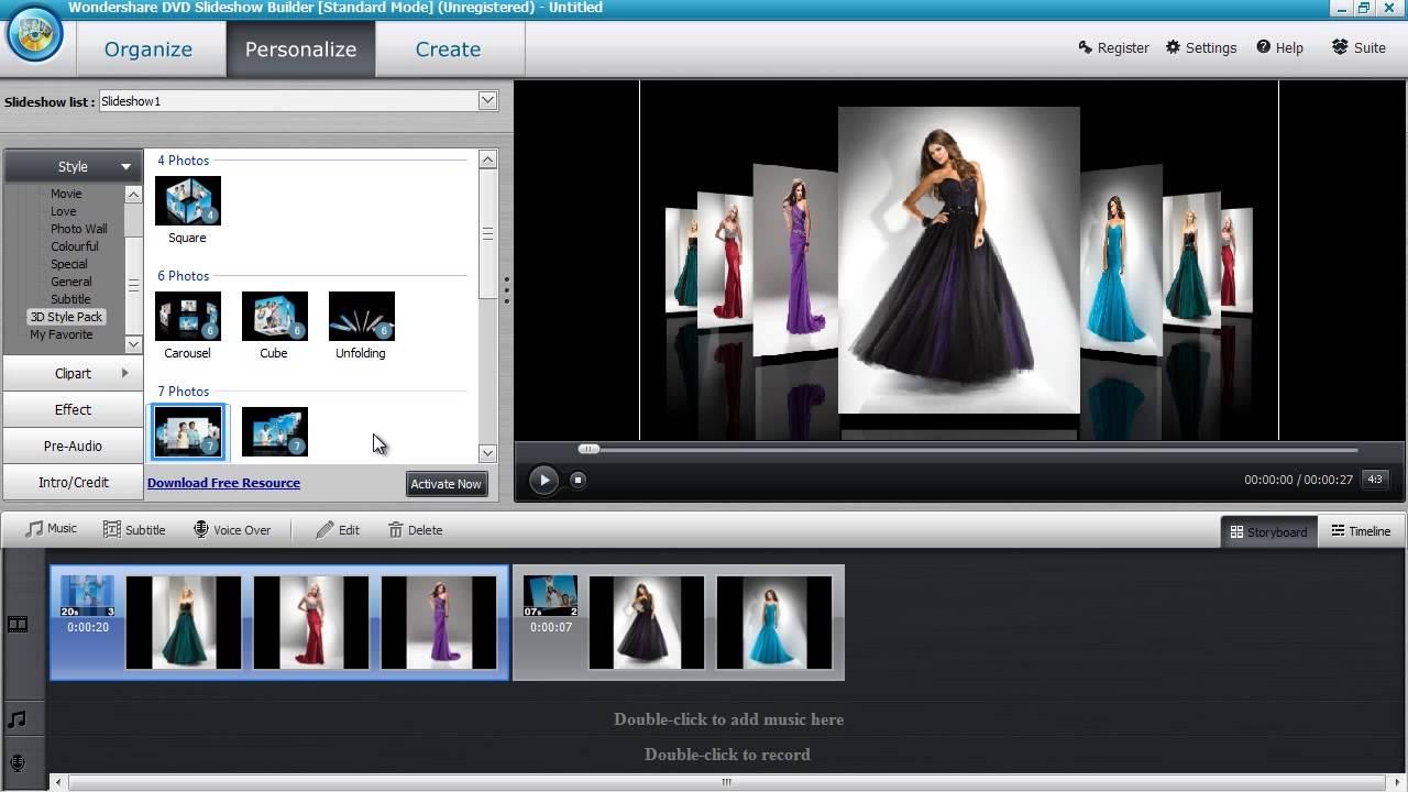 Slideshow making