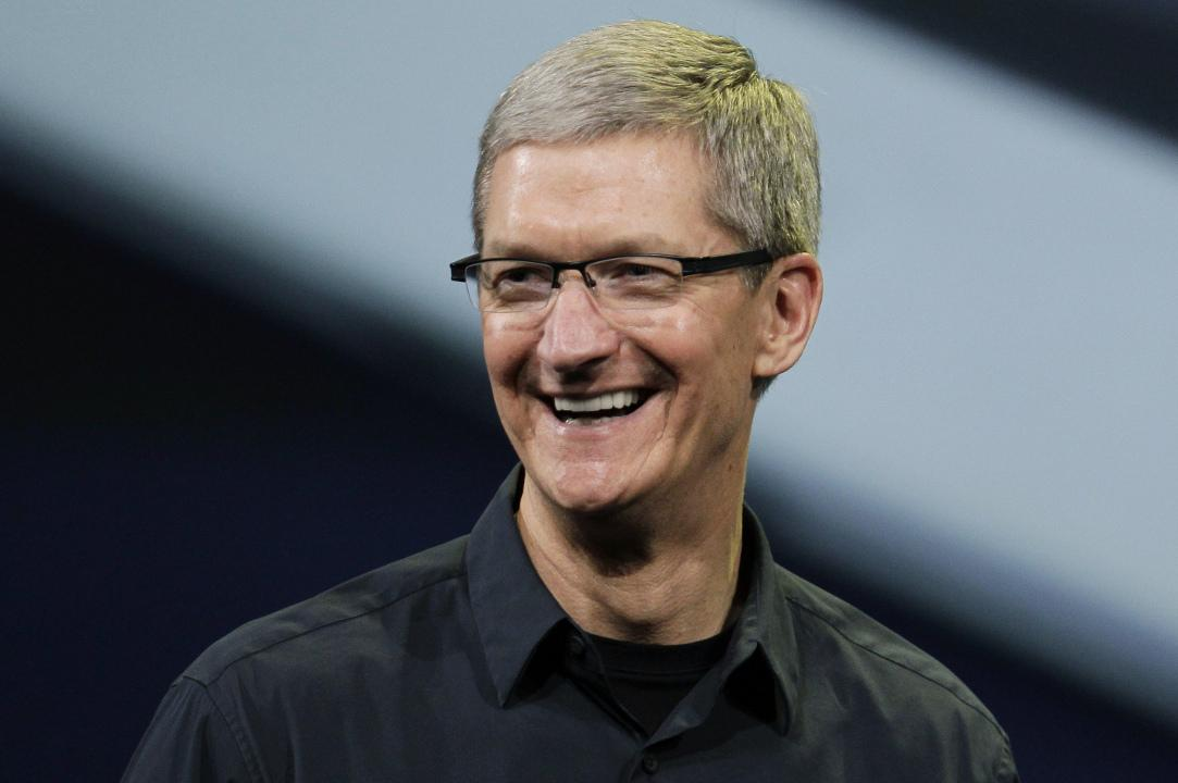 Tim Cook Apple Executive Pay