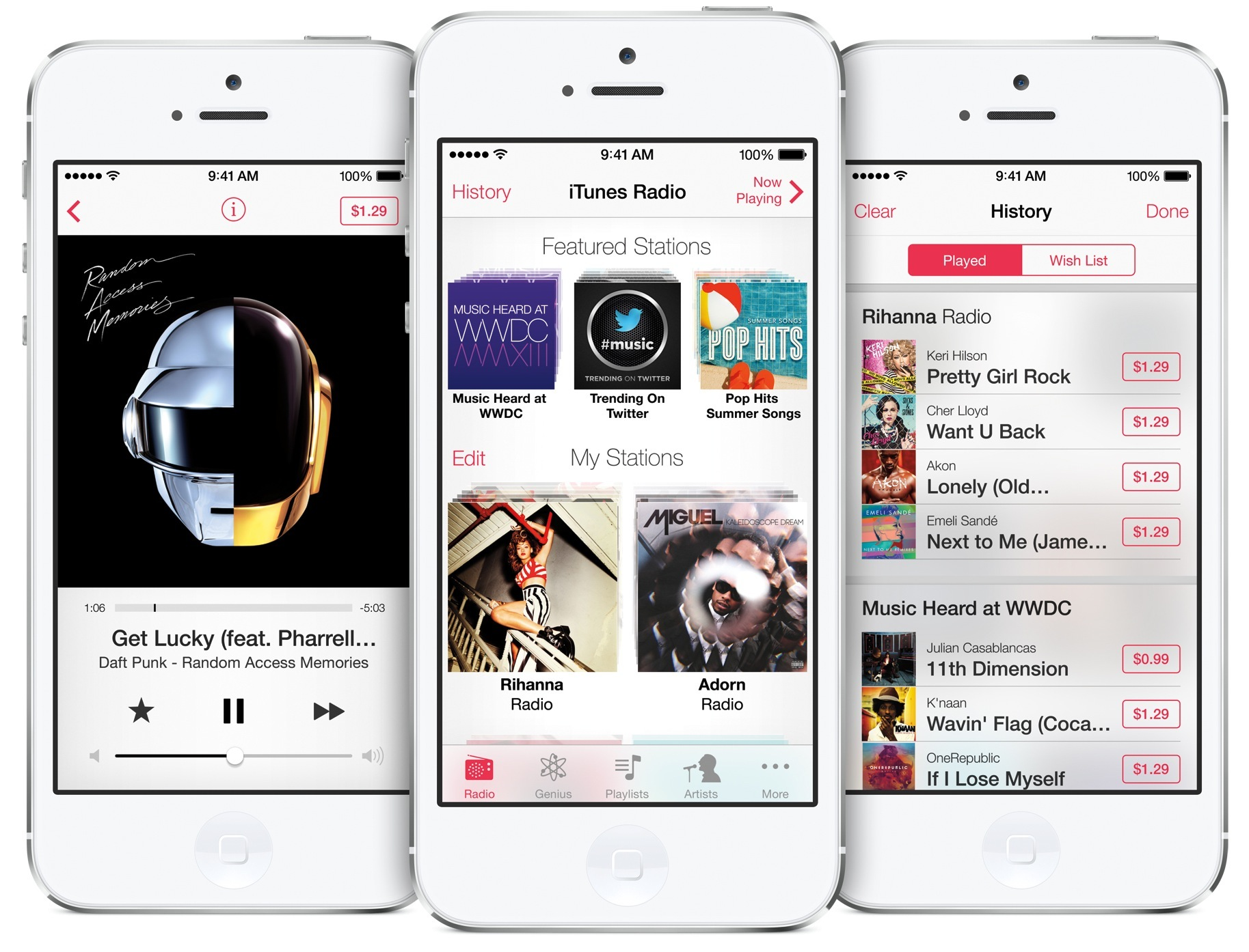 iTunes Radio is no longer free