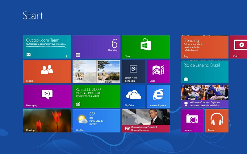 Microsoft Windows 8 Support
