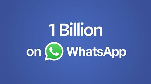 1 Billion on WhatsApp