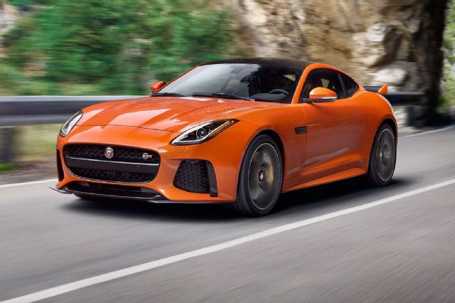 2017 Jaguar F Type SVR - Companys fastest car ever