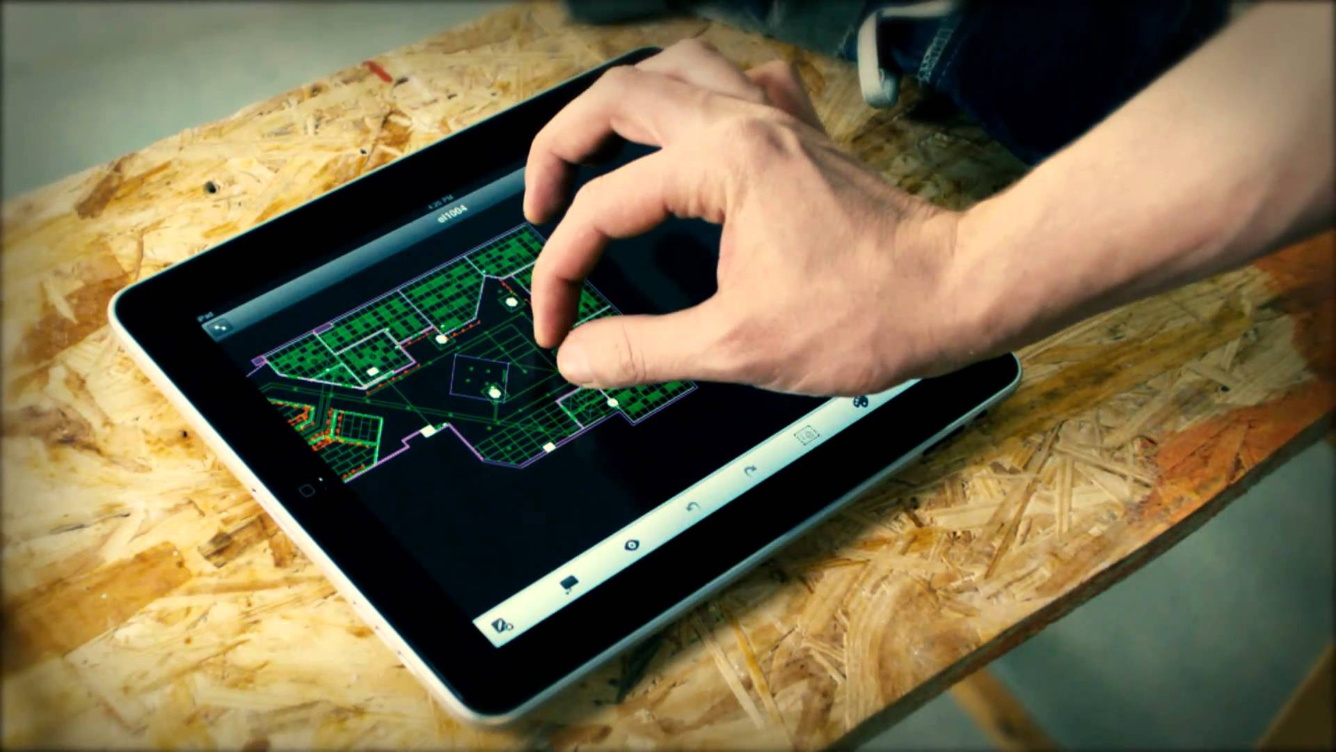 AutoCad 360 for iPad Pro