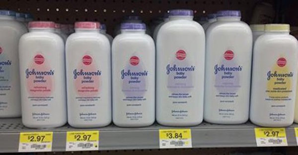Johnson and Johnson Talcum Powder