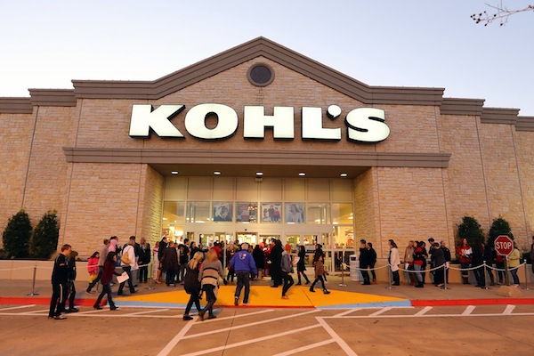 Kohl's sales on the decline through 2017