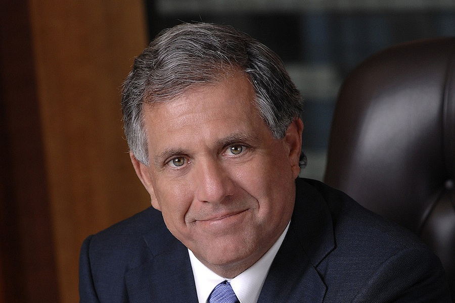 Les Moonves has replaced Sumner Redstone atop CBS
