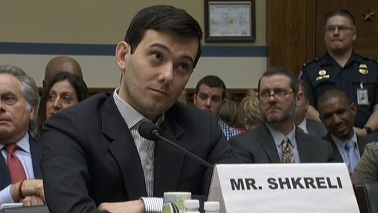Martin Shkreli Rolling Eyes during testimony