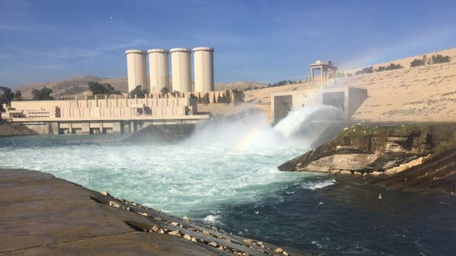 Mosul Dam in Iraq