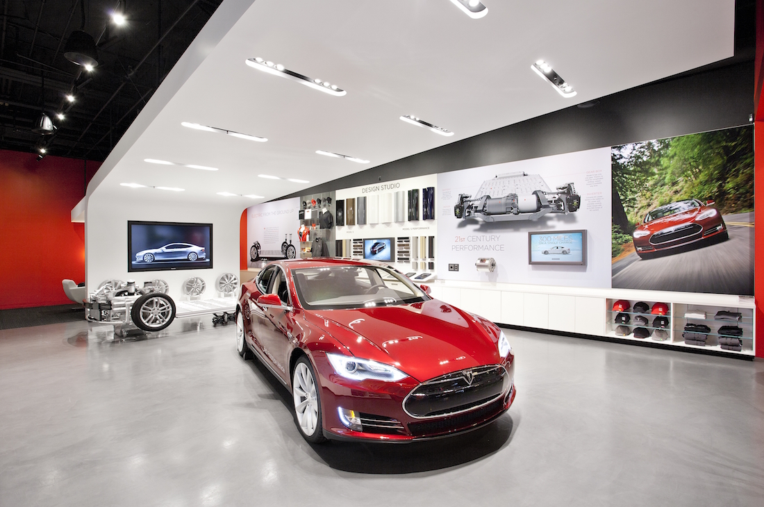Tesla Michigan Car Dealership
