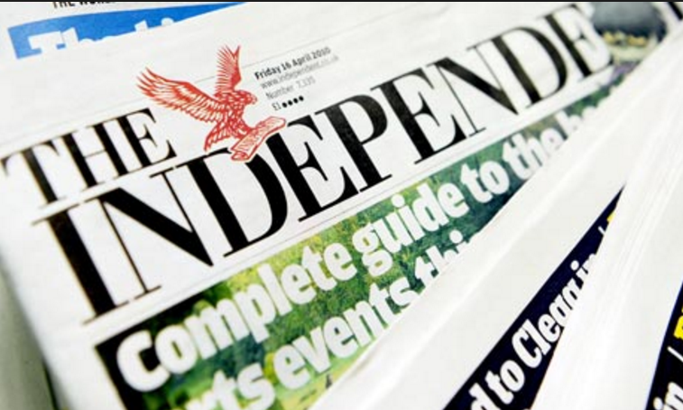The Independent goes all digital