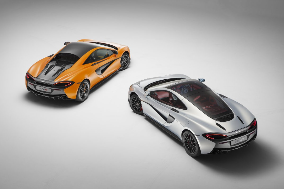 The McLaren 570S and new 570GT