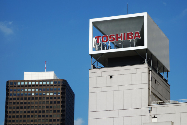 Toshiba shares tank after $6 billion loss