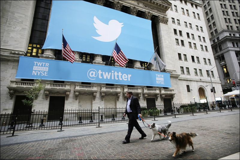Twitter shares continue to plummet get marked as Sell