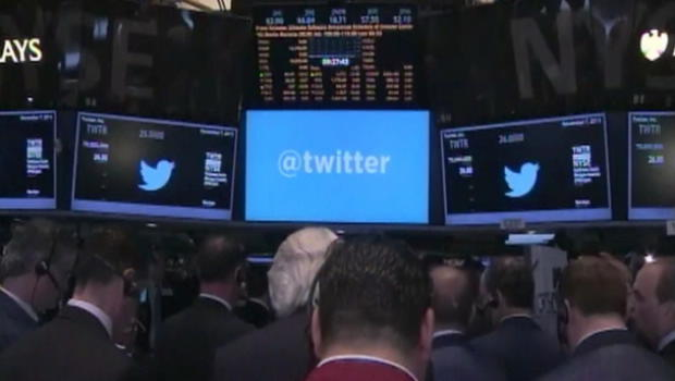 Twitter shares up 10 percent