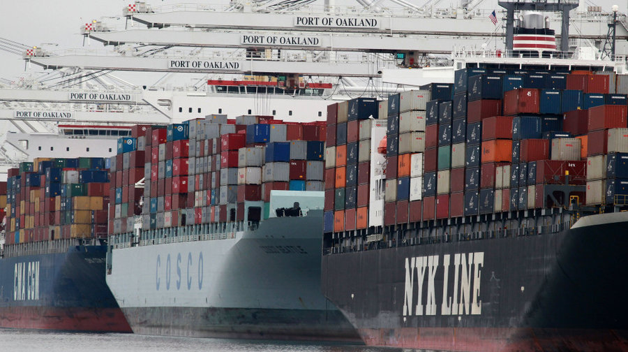 US Exports down in 2015