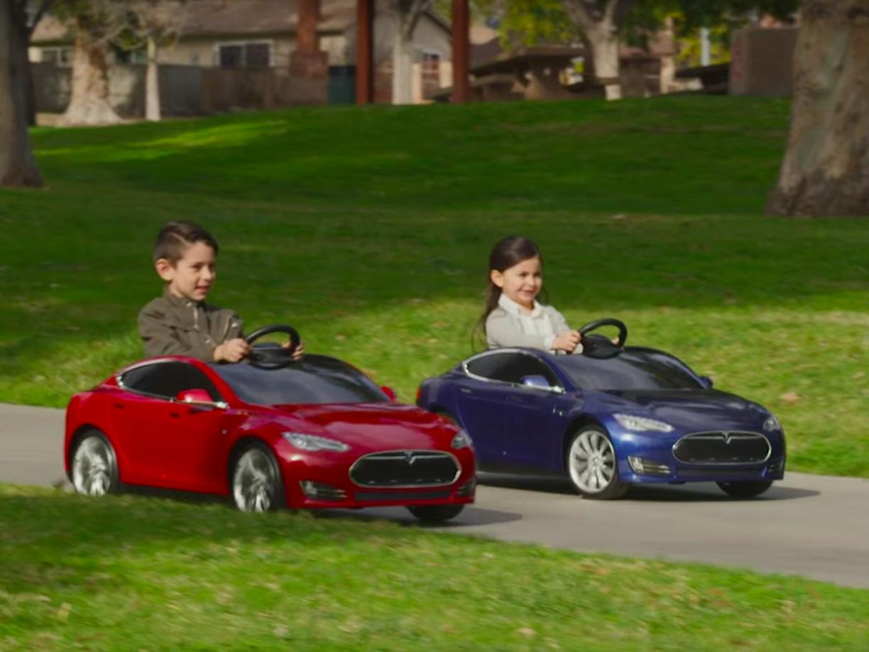 mini Tesla Model S